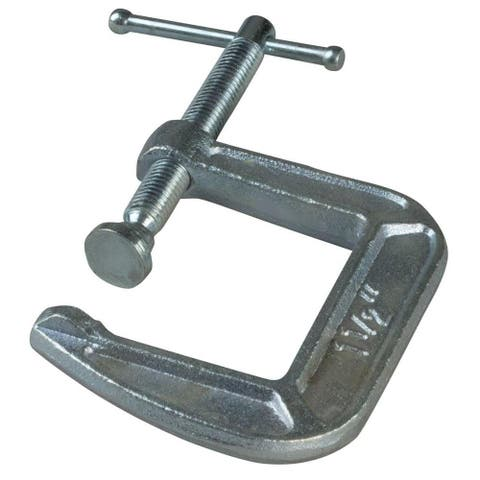 "Bessey CM15 CM Series Light-Duty Drop Forged C-Clamp, 1-1/2"" x 1-1/2"""