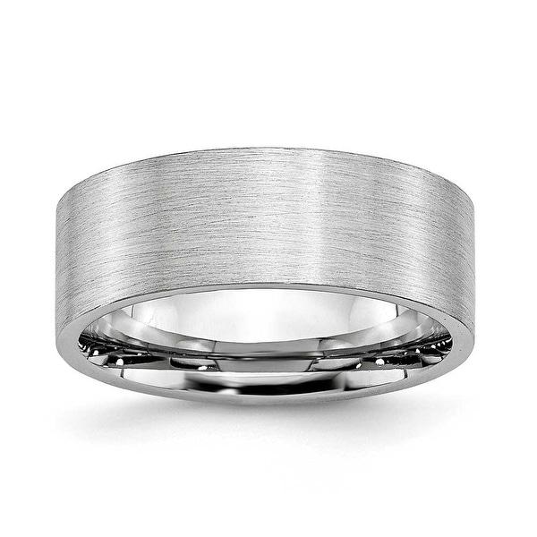 Chisel Cobalt Chromium Polished 8mm Band