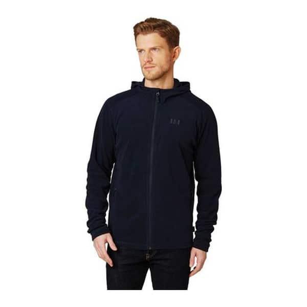 Helly-Hansen Mens Daybreaker Hooded Fleece Jacke Lightweight Hooded Full-Zip Fleece Jacket
