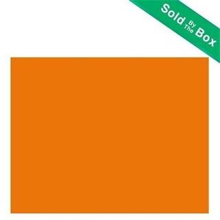 Bazic - 25 Fluorescent Orange 22 in. x 28 in. Poster Board- Pack of 25