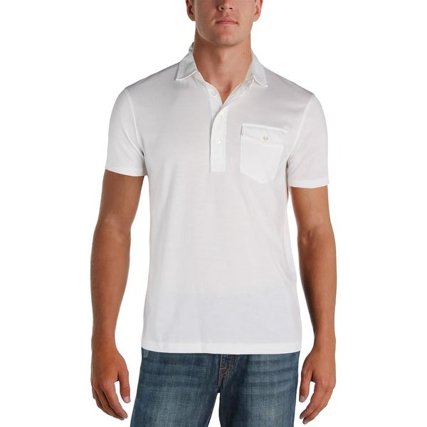 a642b42a9f0 Shop Polo Ralph Lauren Mens Polo Shirt Classic Fit Casual - M - Free  Shipping On Orders Over  45 - Overstock - 22678904
