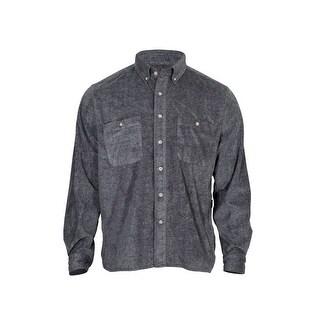 Rocky Outdoor Shirt Mens Long Sleeve SilentHunter Gray LW00141
