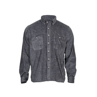 Rocky Outdoor Shirt Mens Long Sleeve SilentHunter Gray