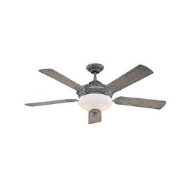 """Savoy House 52-15-545 Bristol 52"""" Indoor Ceiling Fan - 5 Blades and Light Kit Included - aged wood"""
