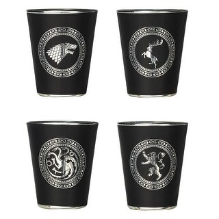 Link to Game of Thrones Sigil Shot Glass Set Similar Items in Glasses & Barware