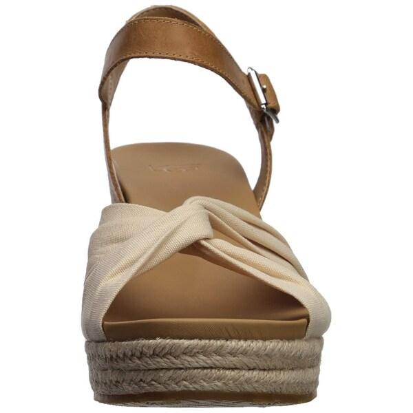 Shop Ugg Womens joslyn Leather Peep Toe