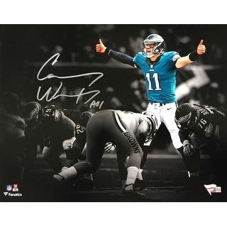Carson Wentz Signed 11x14 Philadelphia Eagles Photo Fantatics