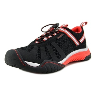 J-41 Crossover Women Round Toe Synthetic Black Running Shoe