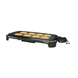 Black & Decker GD2011B Family Size Electric Griddle, 200 sq. in