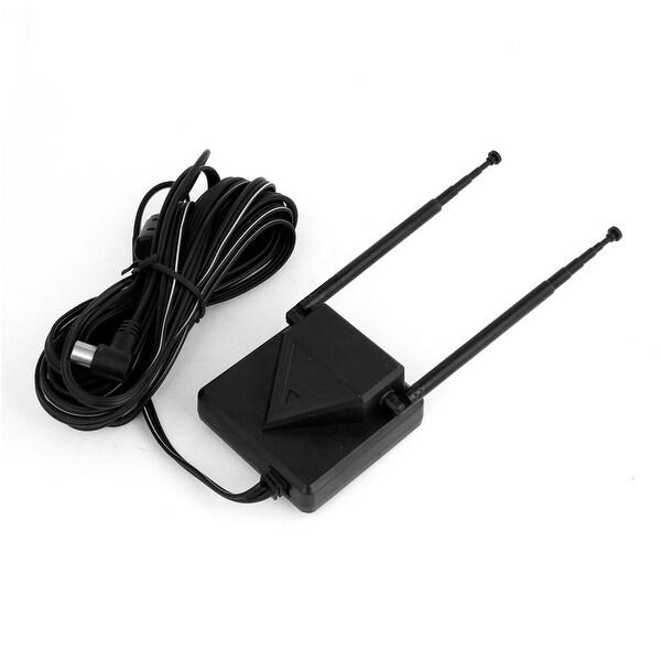 DC 12V Adjustable Angle Booster TV Antenna for Car