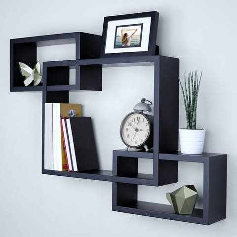 Home Decor Furniture 3 Cubes Storage Wall Mounted Floating Shelf