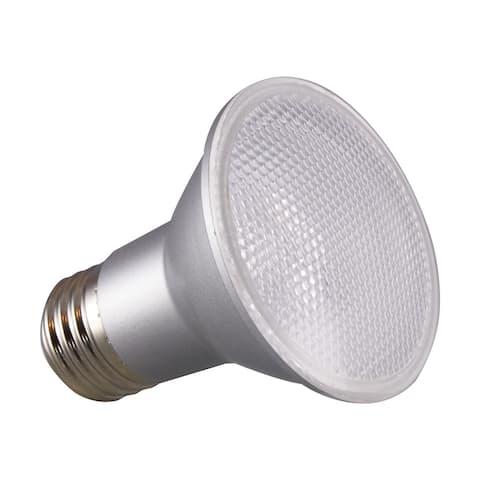 6.5 Watt PAR20 LED 3000K 25 deg. Beam Angle Medium base 120 Volt - Clear