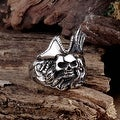 Vienna Jewelry Dead Cowboy Stainless Steel Ring - Thumbnail 2