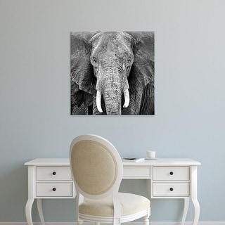 Easy Art Prints PhotoINC Studio's 'Elephant' Premium Canvas Art