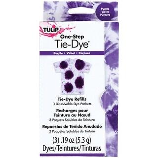 Purple - Tulip One-Step Tie-Dye Refill .13Oz 3/Pkg