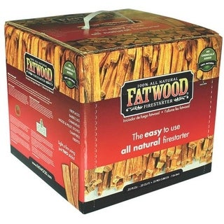 Fatwood 09910 100% Natural Firestarter, 10 Lbs