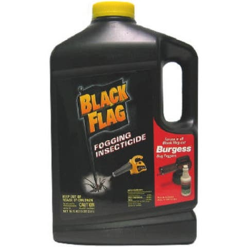 Black Flag 190256 Fogger Insecticide for Black Flag & Burgess Foggers, 64 Oz