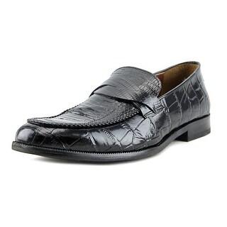 Florsheim Bridgeport Men Round Toe Patent Leather Black Oxford
