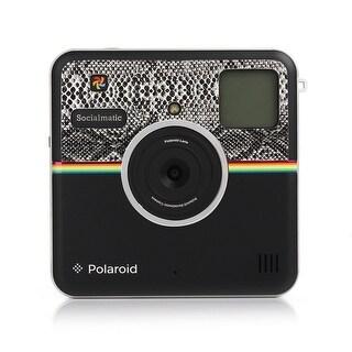 Polaroid Custom Designed Front Sticker for Polaroid Socialmatic - Snake Skin