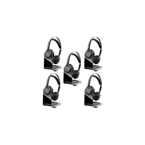 Plantronics Voyager Focus UC B825 Bluetooth Enabled Headset (5-Pack)