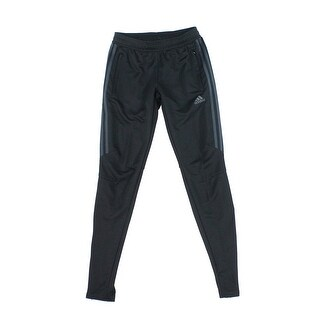 Adidas NEW Black Gray Men's Size XS Tapered Training Soccer Pants