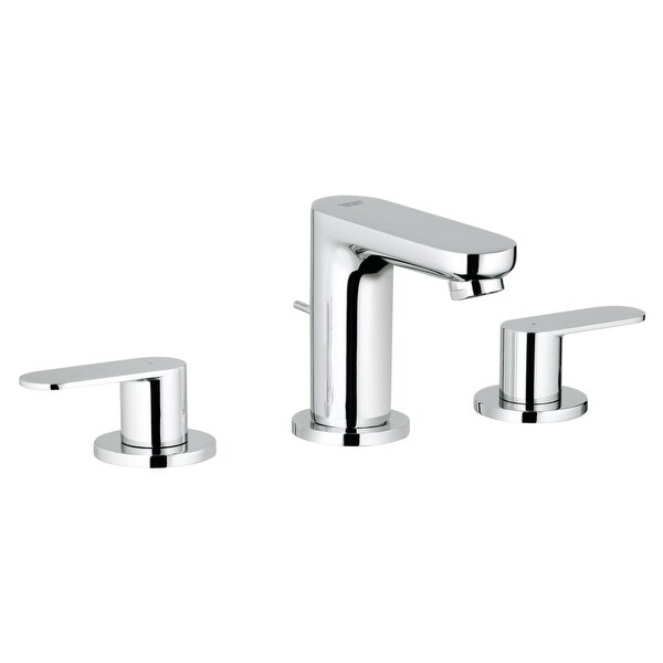 Merveilleux Grohe 20 199 A Eurosmart 1.2 GPM Cosmopolitan Widespread Bathroom Faucet  With SilkMove Technology   Free