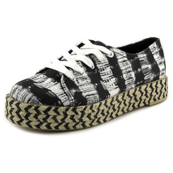 Circus by Sam Edelman Brandon Women Round Toe Canvas Black Espadrille