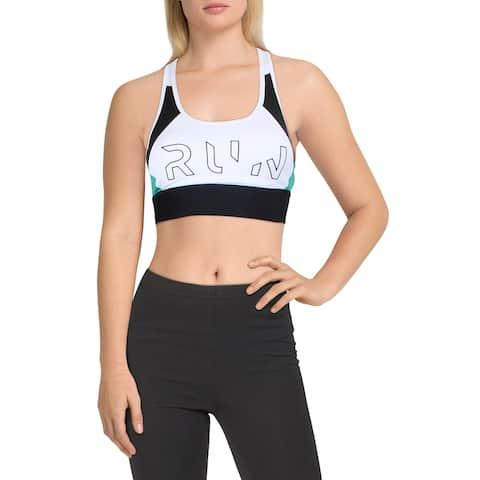 Reebok Womens Sports Bra High Impact Running - White