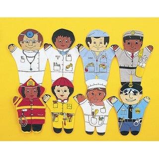 Dexter Toys Multi-Cultural Community Helper Puppet Set