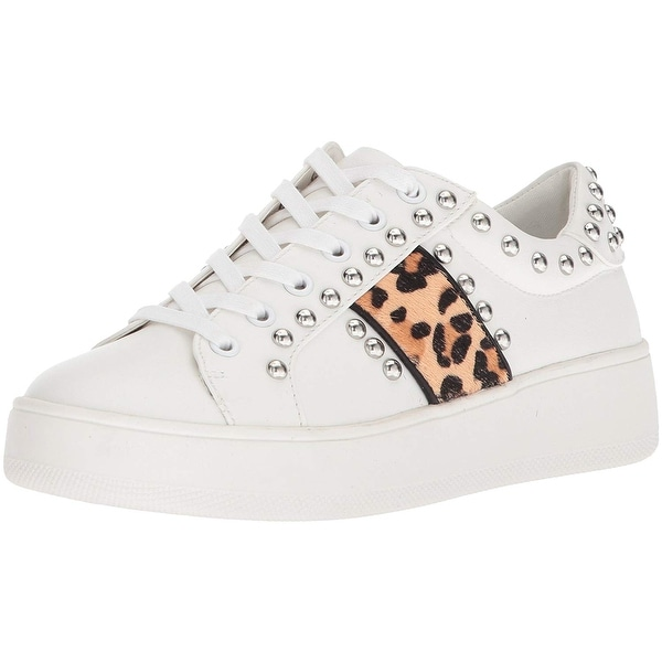 4a3b83096ef Shop Steve Madden Womens Belle Leather Low Top Lace Up Fashion ...