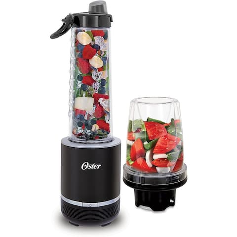 Oster Blend Active 2-in-1 Personal Blender with Food Chopper