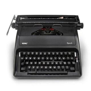 11 in. Epoch Portable Manual Typewriter, Spanish
