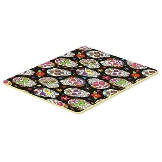 Carolines Treasures BB5116CMT Day of the Dead Black Kitchen or Bath Mat 20 x 30 in.