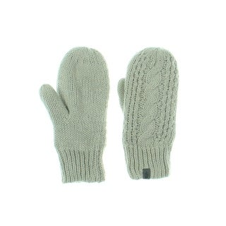 The North Face Womens W Cable Knit Mittens Fleece Solid - S/M