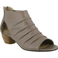 Spring Step Women's Avidra Bootie Taupe Leather