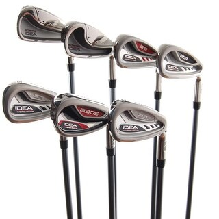 New Adams Idea Mixed Iron Set 4-PW Aldila 55 Senior Flex Graphite RH