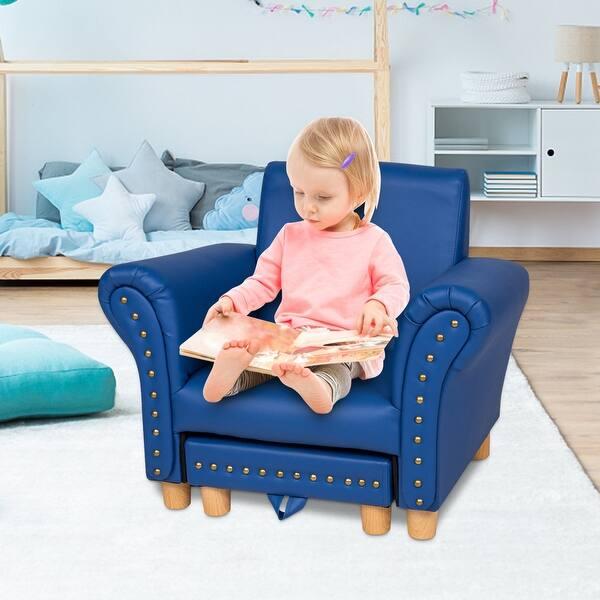 Kinbor Kids Sofa W Footstool Toddler