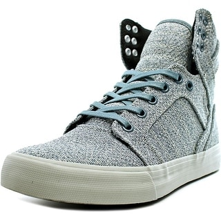 Supra Skytop Round Toe Canvas Skate Shoe