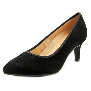 Naturalizer Oath N/S Pointed Toe Suede Heels