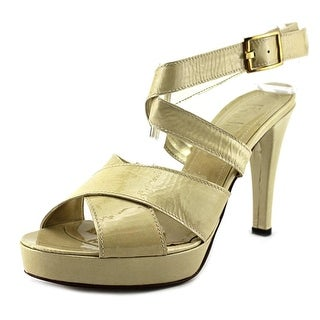 Evado 4273   Open Toe Patent Leather  Sandals