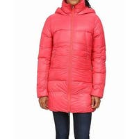 The North Face Red Womens Size Small S Puffer Journey Parka Jacket