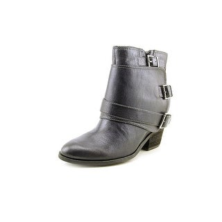 Jessica Simpson Teagan Women Round Toe Leather Gray Ankle Boot