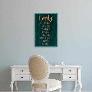 Easy Art Prints Grace Popp's 'Spice Family Rules III' Premium Canvas Art