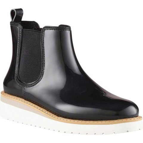 Cougar Women's Kensington Waterproof Chelsea Boot Black/White Rubber