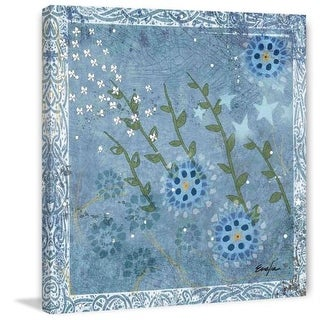 Marmont Hill Eves Flowers I Evelia Painting Print on Canvas