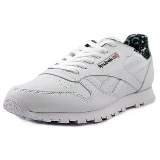 Reebok Classic Leather Animal Youth Round Toe Leather White Tennis Shoe|https://ak1.ostkcdn.com/images/products/is/images/direct/697220634f3fa42dbe0e8cecf161f5bec7232e8c/Reebok-Classic-Round-Toe-Leather-Tennis-Shoe.jpg?impolicy=medium