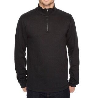 Carhartt NEW Deep Black Mens Size 3XL 1/2 Zip Knit Pull-Over Sweater
