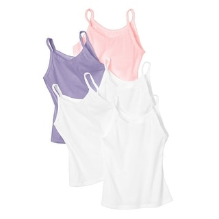 Hanes Toddler Girls' Cami Assorted 5-Pack - 4T