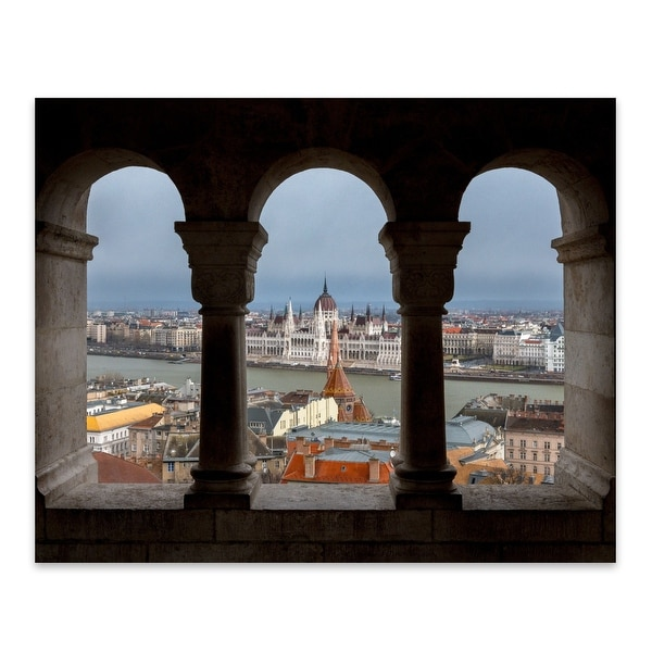 Budapest Hungary City Cityscape Metal Wall Art Print. Opens flyout.