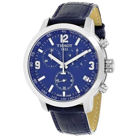 Tissot Men's Blue Dial Watch - T0554171604700